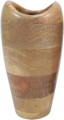 GolMaalShop Flower Wooden Vase