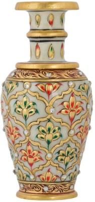KAMAKSHI KAFV Stoneware Vase(15 inch, Multicolor)