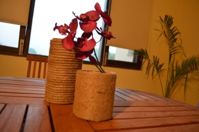 Prop It Up Jute Vase