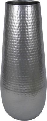GolMaalShop Hammered Flower Iron Vase