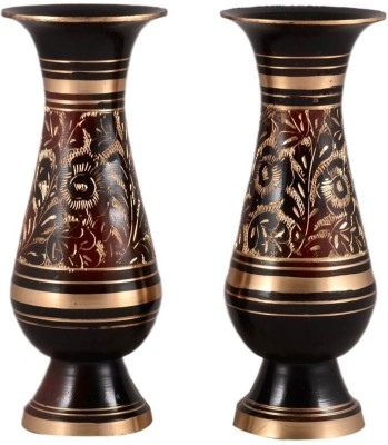 Being Nawab Brass Vase