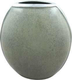 Pathak Enterprises Aluminium Vase(10.5 inch, Grey)