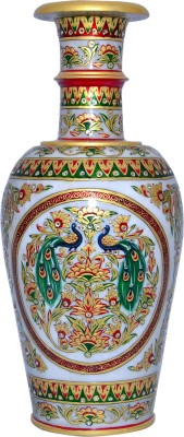 Vaah Marble Stoneware Vase