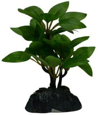 Flowers Forever Artificial Bonsai Plant small Stoneware Vase(7 inch, Multicolor)