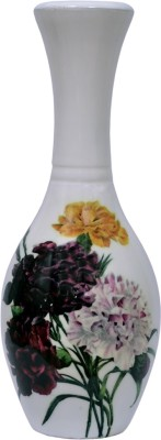 Yash Enterprises Beautiful Flower Design(30 Cm) Wooden Vase