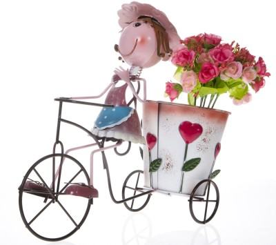 Smile2u Retailers Cycle Iron Vase
