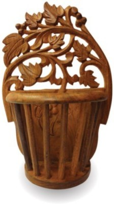 Onlineshoppee Wooden Vase