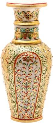 Santosh Art Collection Marble Stoneware Vase