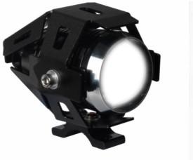 Speedwav Cree U5 Projector White Aux Light - Hero Splendor Plus Motorbike LED Bulb