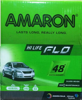 Amaron 42B20L 35 Ah Battery for Car