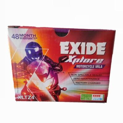 EXIDE Xplore FXLO-XLTZ4- 3 Ah Battery for Bike