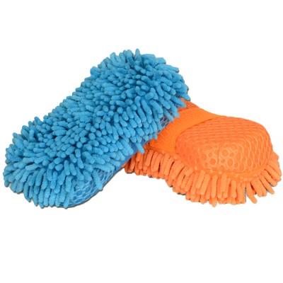 Vheelocityin Glove Sponge Mitt Sponge(Pack of 2)
