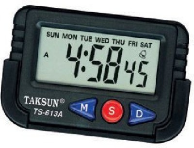 TAKSUN Analog - Digital Car Vehicle Clock