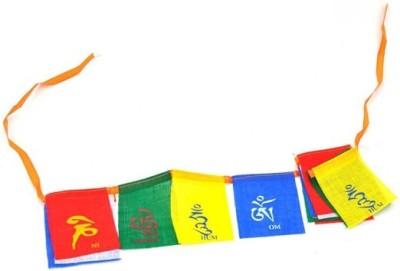 SCORIA tibetan flag for bike Royal Enfield Emblem