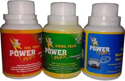 Power Plus combo pack of cool tech+oil tech+magiclean Engine Cleaner(100 ml)