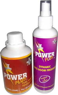 Power Plus LMV + Dynamic Auto Room Freshner Engine Cleaner(250)