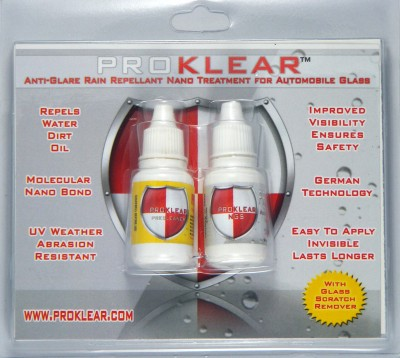 ProKlear Prkngs Liquid Vehicle Glass Cleaner