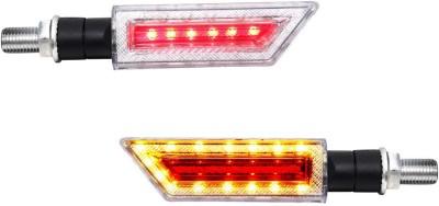 Speedwav Front, Rear LED Indicator Light for Honda Unicorn