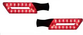 Speedwav Parallelogram RED LED Assembly Set Of 2-Hero CBZ Extreme Hero CBZ Extreme LED Indicator Light