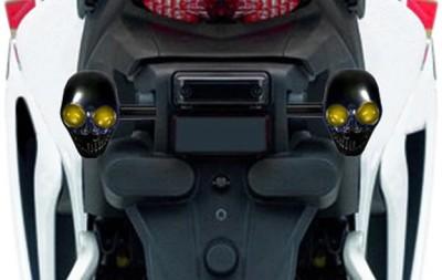 Speedwav Rear LED Indicator Light for Universal For Bike