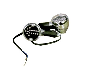 HMRA Power Front, Rear LED Indicator Light for Royal Enfield, Bajaj Universal For Bike