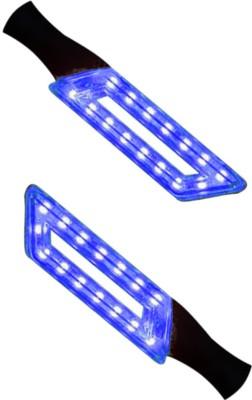 ACCESSOREEZ Front, Rear LED Indicator Light for Mahindra Gusto