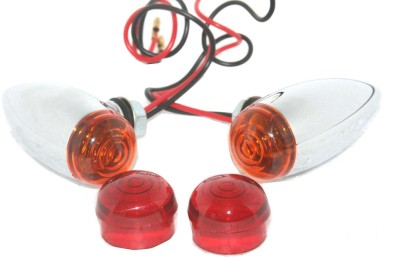 AEspares Front, Rear Indicator Light for Universal For Bike Universal For Bike