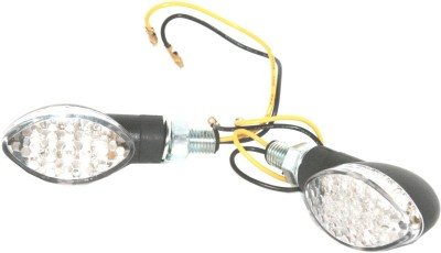 AEspares Front, Rear LED Indicator Light for Universal For Bike Universal For Bike