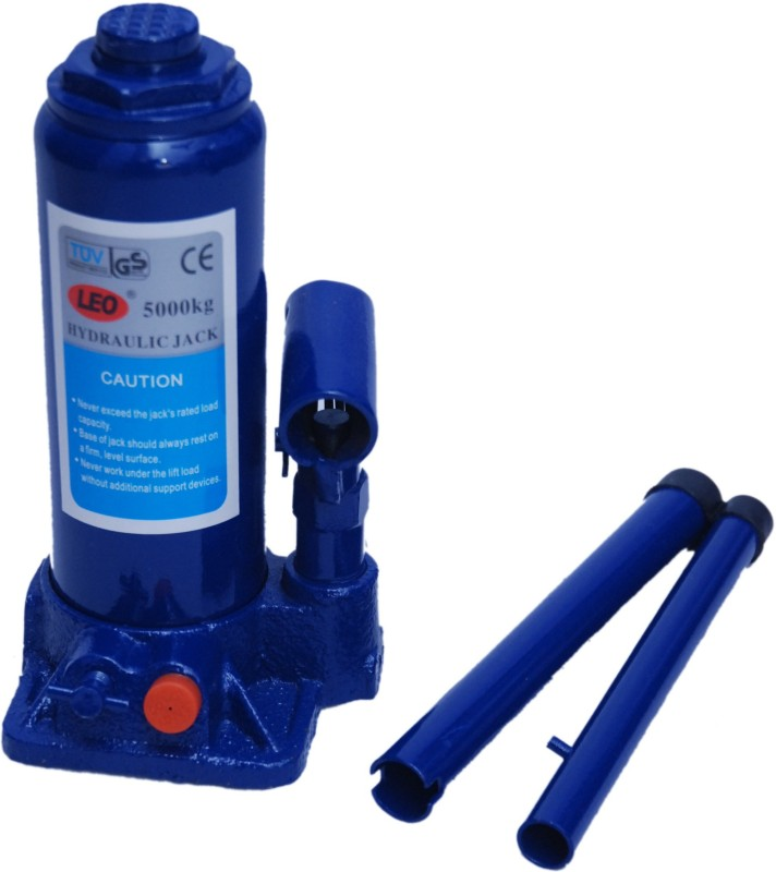 CRAZZY RIDES HJK5001 Hydraulic Bottle Vehicle Jack(5000 kg)