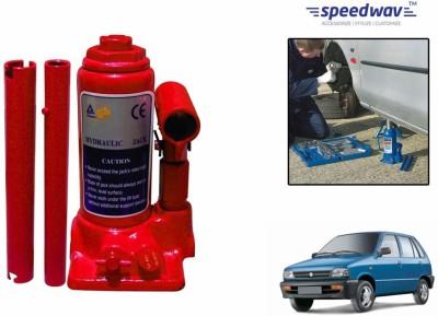 Speedwav 58556 Hydraulic Bottle shaped Hydraulic Bottle Vehicle Jack(2 Ton)