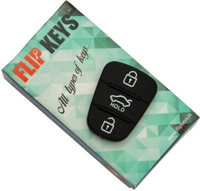 Flip Keys Replacement Keypad For Hyundai I-20 (2008-11 Model) Car Key Cover