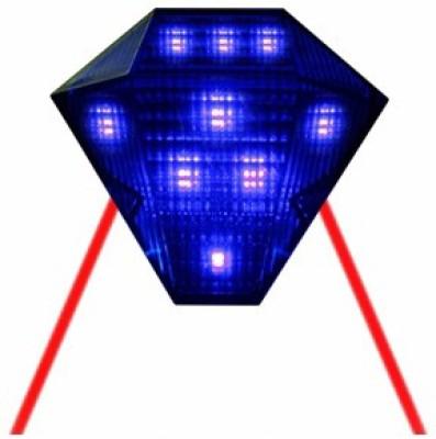 Speedwav Headlight LED Bulb for  Universal For Bike Universal For Bike