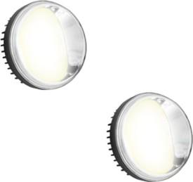 Speedwav YCL COB 2.5 inch Aux Lights Set of 2 - Bajaj Platina 100 DTS - i Motorbike LED Bulb