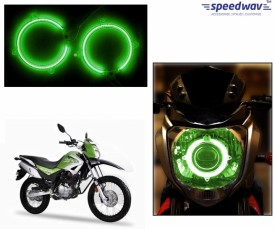 Speedwav Halo CCFL Tube Angel Eyes Light GREEN - Hero Impulse Motorbike CFL Bulb