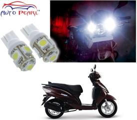 Auto Pearl Parking Pilot Daytime Running Lens T10 (3W) For - TVS Wego Motorbike LED Bulb