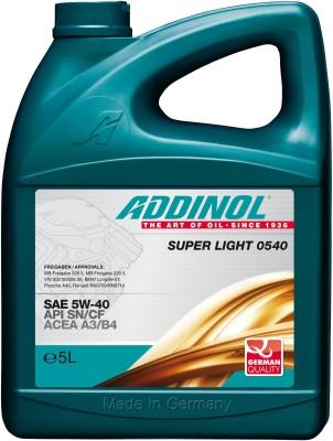 ADDINOL ADDINOL Super Light 0540 Fully Synthetic Super Light Super Light 0540 Fully Synthetic 4Litter Engine Oil(4 L)