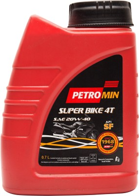 Petromin SAE 20W40 Superbike 4T Engine Oil(0.7 L)
