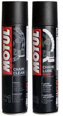 Motul C1 C2 Combo Chain Clean Lube Road Promo Chain Oil