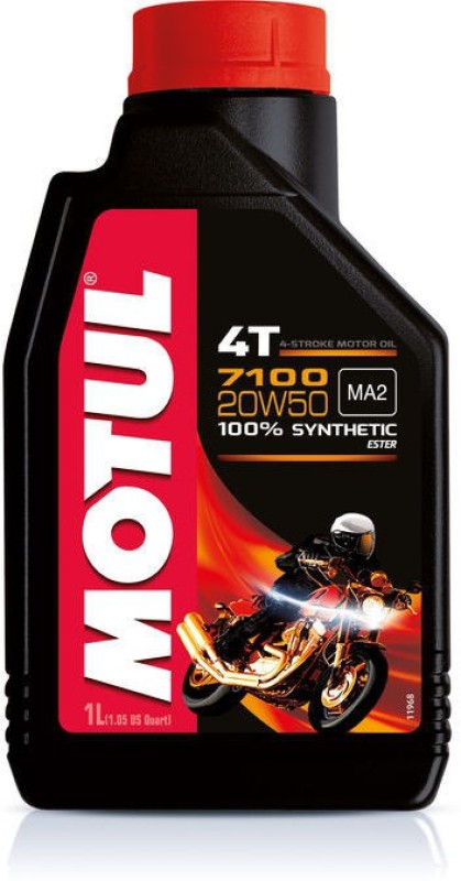 Motul 7100 20W50 Fully Synthetic Engine Oil(1000 ml)