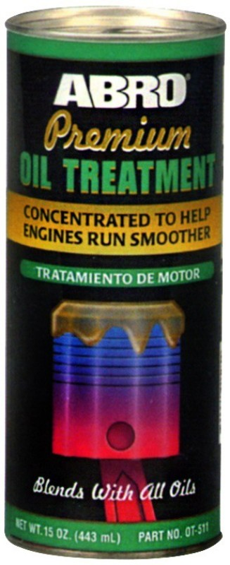 Abro OT-511 Premium Oil Treatment High-Mileage Motor Oil(443 ml)