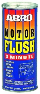 Abro MF-390 Motor Flush(MF) Synthetic Motor Oil(443 ml)