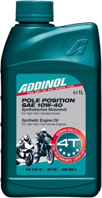 ADDINOL Pole Position 10W40 Synthetic Pole Position 10W40 synthetic Engine Oil(1 L)