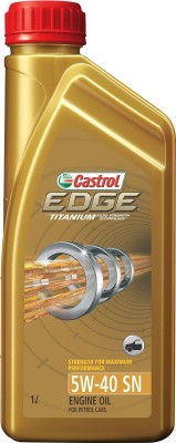 Castrol Titanium 5W40 Edge Synthetic Motor Oil