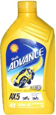 Shell 20W-50 Advance AX5 Engine Oil(1 L)