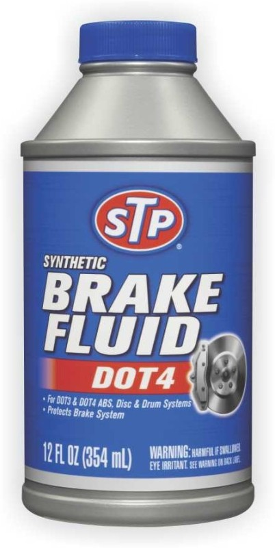 STP 200833E Synthetic Brake Fluid DOT4 Brake Oil(354 ml)