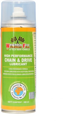 Wonderfill SRS600002 Cleaner Lubricant Chain Oil