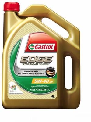 Castrol 235155 Castrol 5W-40 Synthetic Car Petrol Engine Oil 4 Litre-Maruti Vitara Brezza Engine Oil(4 L)