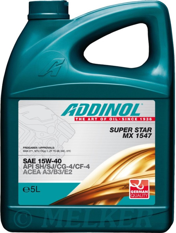 ADDINOL Super Star MX 15W40 15w40 Engine Oil(4 L)