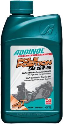 ADDINOL Pole Position 20w50 SAE 20W-50 VollSynthetisch Engine Oil(1 L)