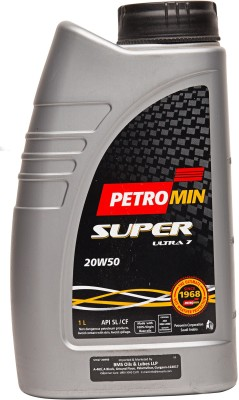 Petromin 20W50 Super Ultra 7 Engine Oil(1 L)